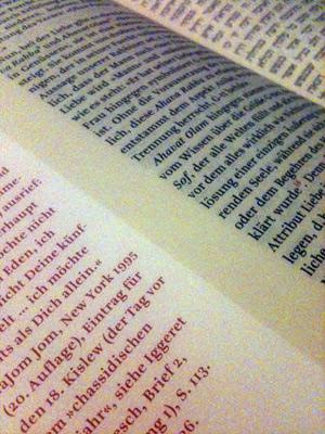 Buch Tanja - Deutscher Text mit Rand