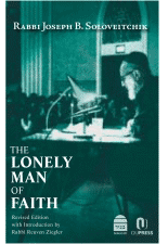 The Lonely Man of Faith - Cover