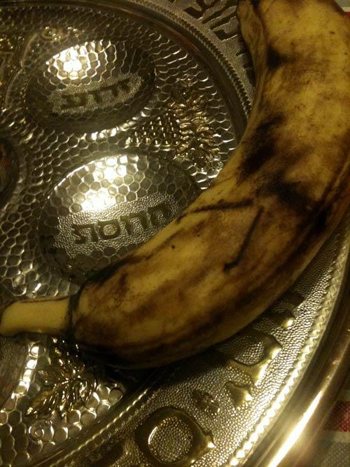 Sederteller und Banane