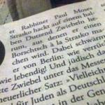 Artikel aus der Zeit