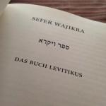 Die Torah - Beginn des Buches WaJikra