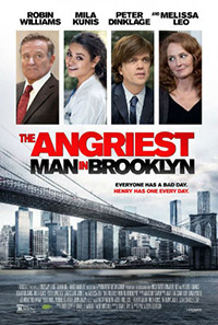 Filmposter: The Angriest Man in Brooklyn