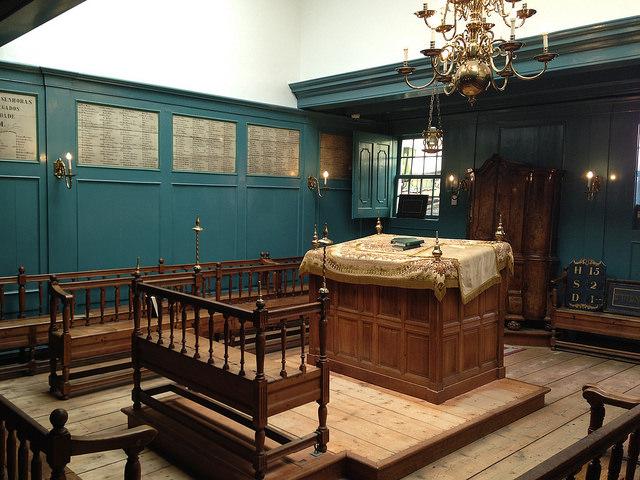 Wintersynagoge der Portugiesischen Synagoge in Amsterdam