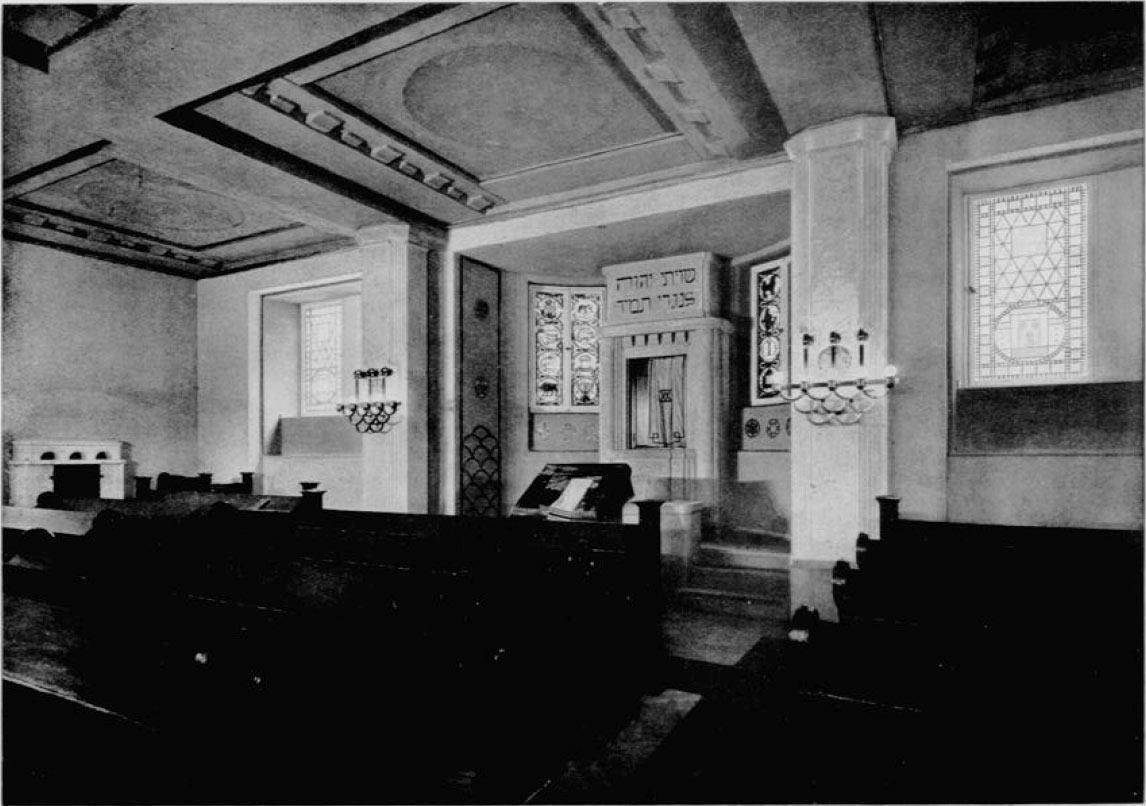 Synagoge für Wochentage