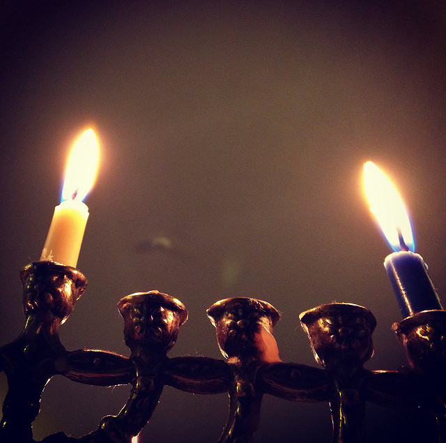 Chanukkah im Haus des Ba'al haBlog