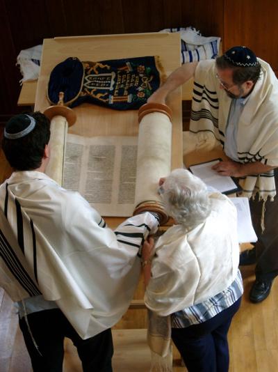 Ruth und Chajm - Torahlesung