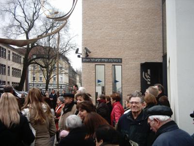 Synagogeneinweihung Gelsenkirchen