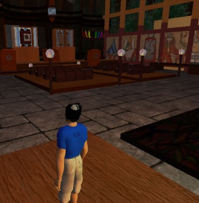 Synagoge in Second Life