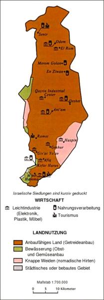 Wirtschaft auf dem Golan