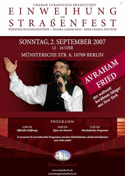 Chabad Berlin Eröffnung