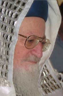 Rabbiner Mordechaj Elijahu