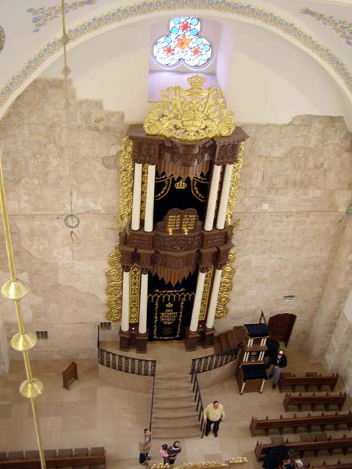 Das Innere der Hurva Synagoge