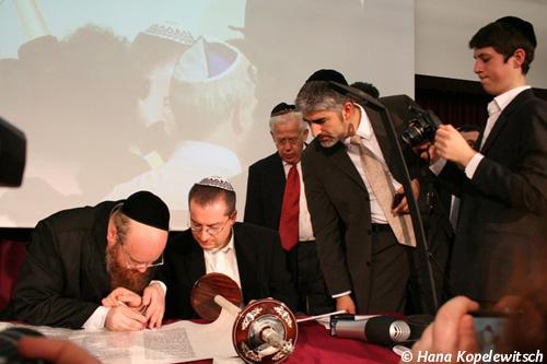 Düsseldorfs Rabbiner Julian Soussan