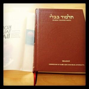 Auspacken des Koren Talmud?