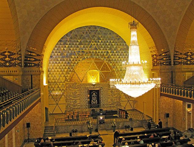 Westend-Synagoge (Frankfurt am Main) von Dontworry (Eigenes Werk) [CC BY-SA 3.0], via Wikimedia Commons