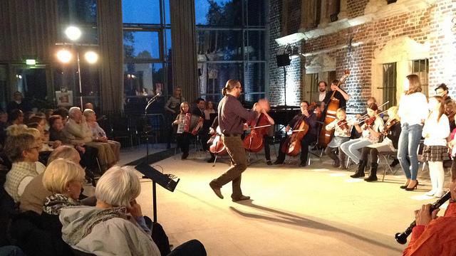 Hulyanke Session 2015 - Ilya Shneyveys  dirigiert