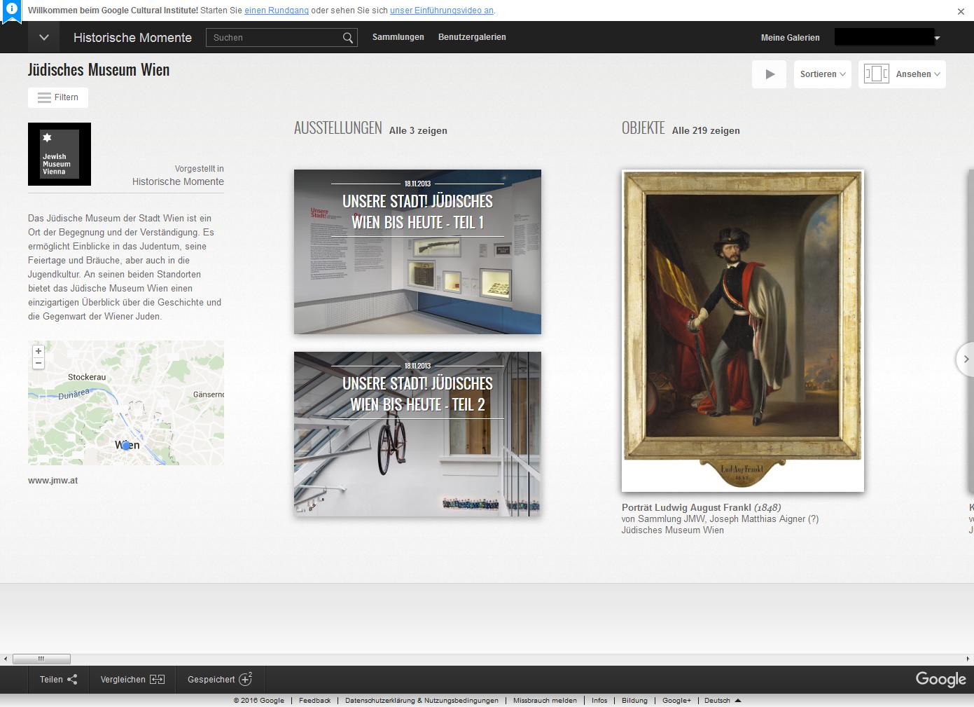 Das Jüdische Museum Wien online