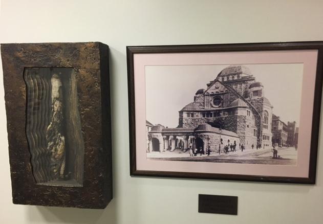 Torah und Bild der Alten Synagoge Essen