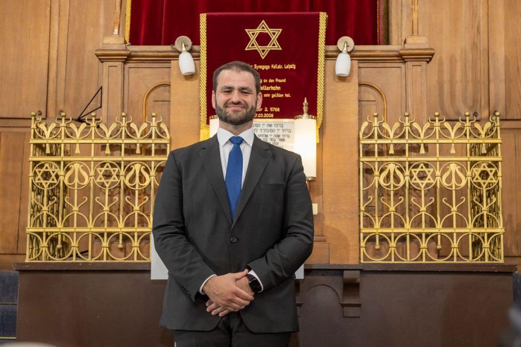Bild von Rabbiner Zsolt Balla